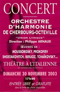 Affiche nov 2003