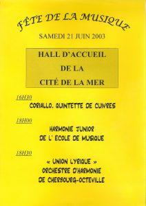 Affiche dec 2003